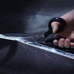 12 Resharpenable Fiberglass Scissors