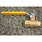 Brass/Plastic Two-Way Shutoff Valves