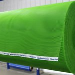 Green HDPE Infusion Flow Media