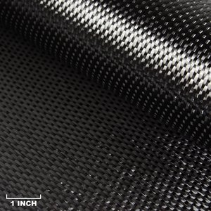 6K, 5HS Satin Weave Carbon Fiber Fabric