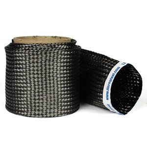 Braided Carbon Fiber Biaxial Sleeves
