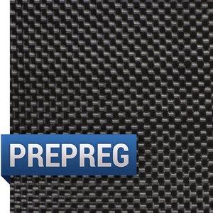 Prepreg 3K, Plain Weave Carbon Fiber Fabric - Clearance
