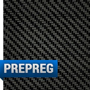 Prepreg 3K, 2x2 Twill Weave Carbon - Clearance
