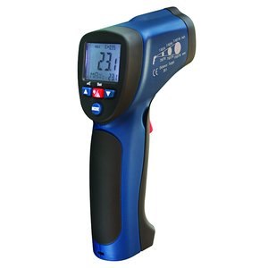 Infrared Thermometer with Type K Thermocouple