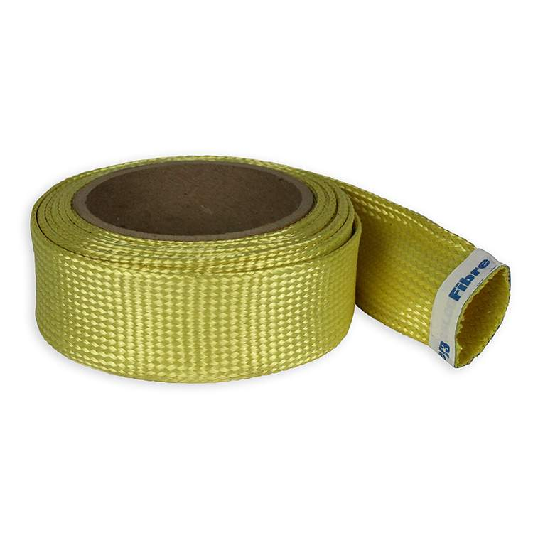 "Product 2"" Braided Kevlar® Biaxial Sleeve"