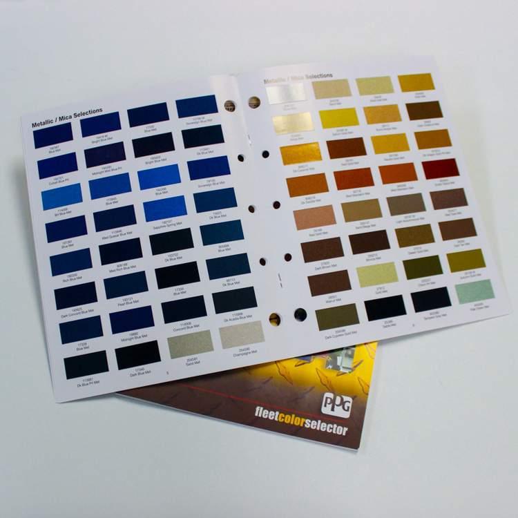 ChromaGlast Color Book- Same Day Shipping - Fibre Glast
