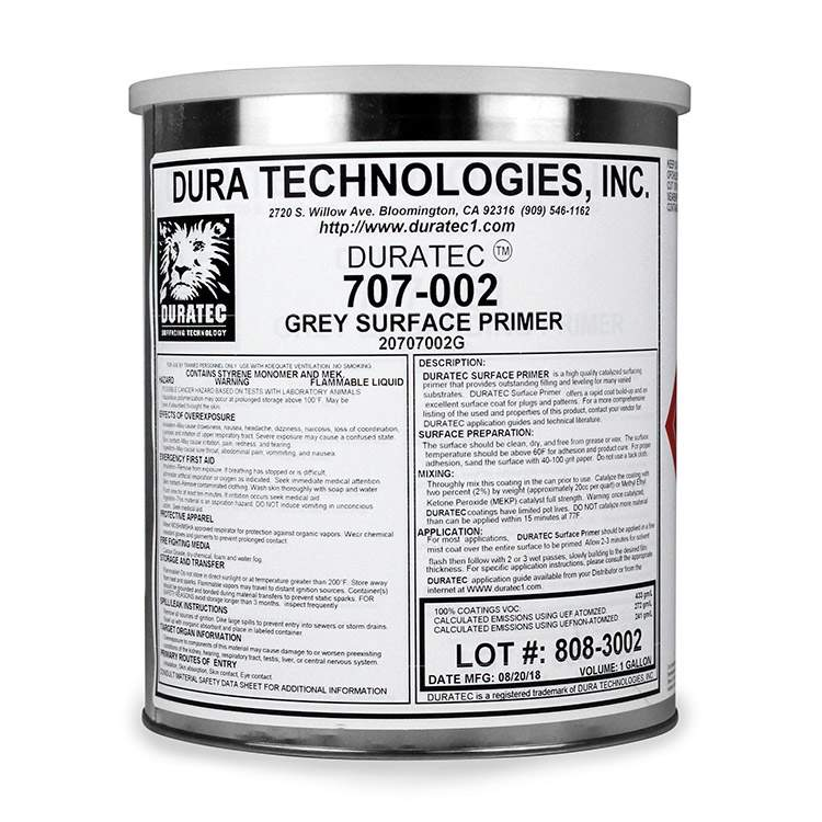 Product Duratec® Gray Surfacing Primer