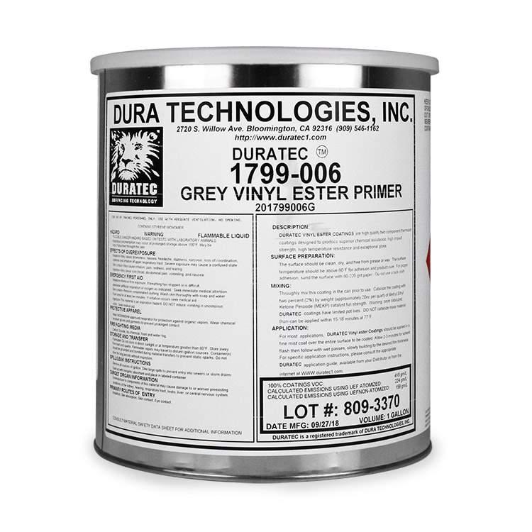 Product Duratec® Gray Vinyl Ester Primer