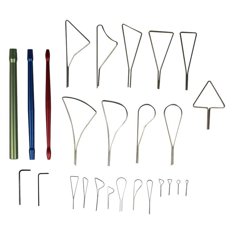 Product Glyptic Set Standard Clay Tools