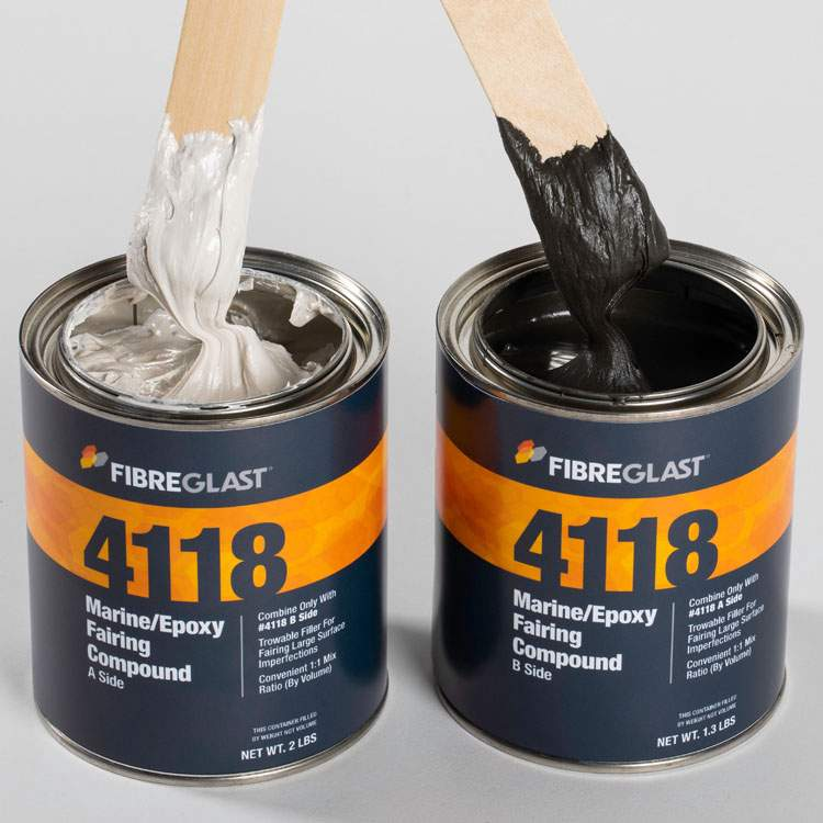 Marine Epoxy Fairing Compound in stock | Fibre Glast