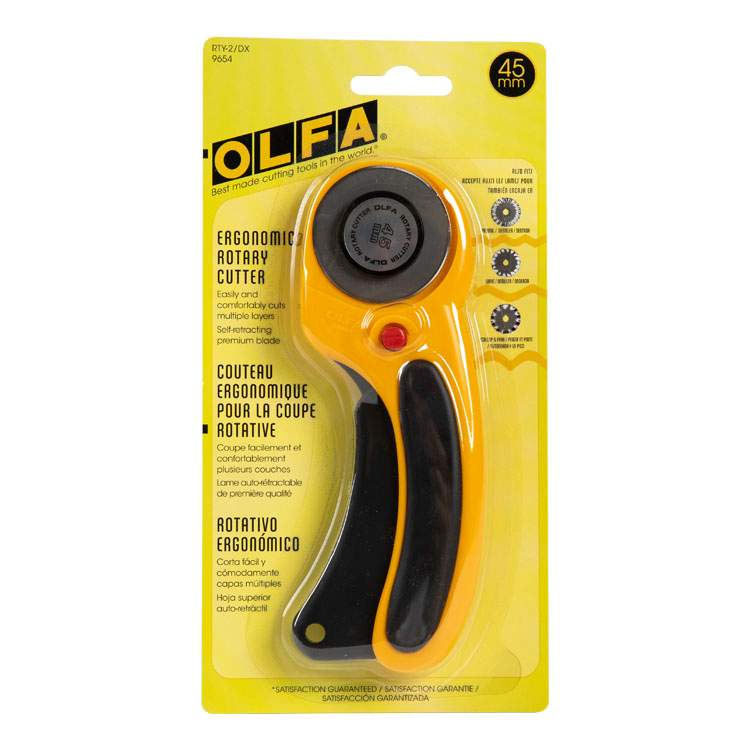Olfa Rotary Cutter 1706 A For Cutting Fabric In Stock