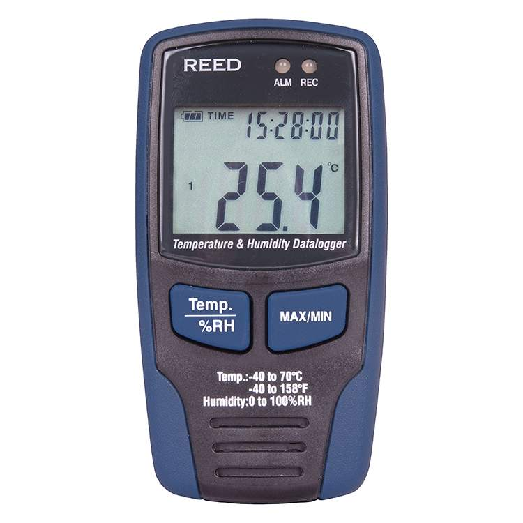Product Temperature and Humidity Datalogger